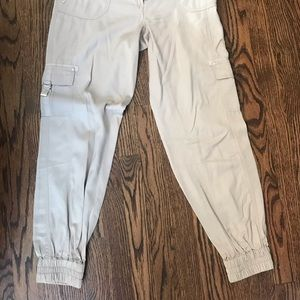 White House Black Market Sateen Joggers
